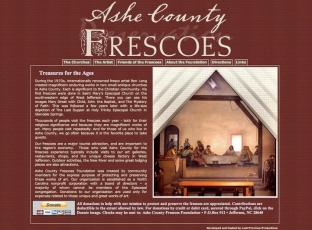 Ashe County Frescoes