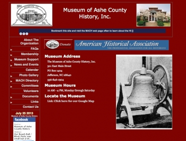 Museum of Ashe County History, Inc